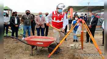 La Libertad: colocan primera piedra para reconstrucción de colegio en Chicama - LaRepública.pe