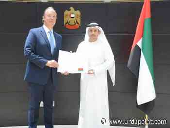 Director of MoFAIC's Dubai Office receives credentials of Consul-General of Belarus - UrduPoint News