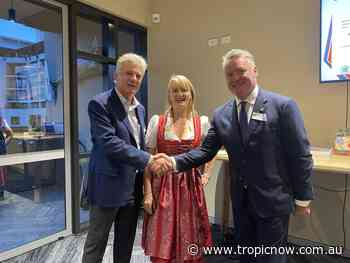 Historic changeover in Cairns Honorary Consul for Austria - TropicNow