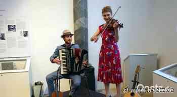 Klezmer-Duo Azind beendet Konzert-Durststrecke in Sulzbach-Rosenberg - Onetz.de