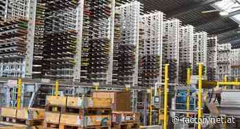 Lager-Säge-Roboter-System für die Stahlindustrie - Factory