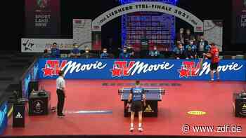 Tischtennis: Mannschaft, Männer - ZDFsport