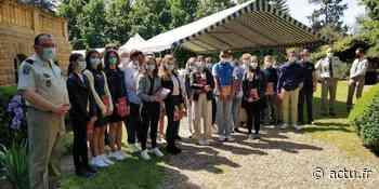 Jura. Des élèves de Lons-le-Saunier reçoivent le Prix du Gouverneur militaire de Metz - Voix du Jura