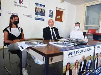 Jura. À Lons-le-Saunier, Richard Fichet et Justine Bréant, candidats envers et contre tous aux départementales - actu.fr