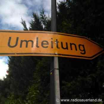Bauarbeiten in Olsberg und Schmallenberg - Radio Sauerland