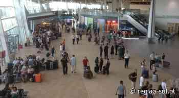 Movimento de passageiros no Aeroporto de Faro caiu 92,8% no primeiro trimestre - Região Sul