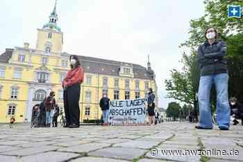 Demo auf dem Oldenburger Schlossplatz: Bessere Bedingungen für Blankenburg gefordert - Nordwest-Zeitung
