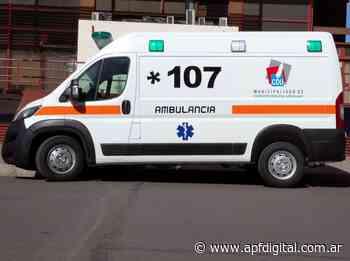 La Ambulancia Municipal de Concepción realizó más de mil traslados en pandemia - apfdigital.com.ar - APF Digital