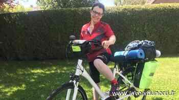 Wambrechies : Christine Déru, un tour de France à vélo pour sensibiliser à la maladie d'Alzheimer - La Voix du Nord