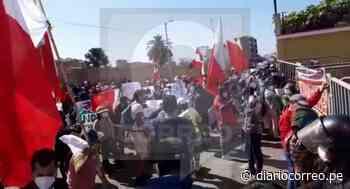 Tacna: Simpatizantes de Perú Libre protagonizan manifestaciones (VIDEO) - Diario Correo