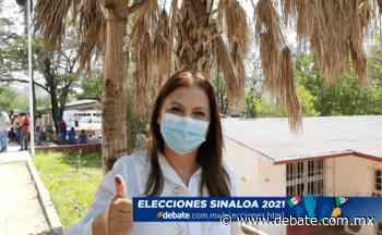 Elecciones 2021: Emite su voto la candidata a la alcaldía de Cosalá por PAS-MORENA, Carla Úrsula Corrales - Debate