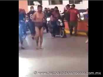 Vecinos de Ixmiquilpan, Hidalgo golpearon, desnudaron y pasearon a presunto ladrón – Palco Noticias - Palco Quintanarroense