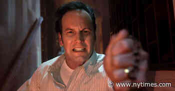 """In Praise of Patrick Wilson, """"The Conjuring"""" Scream King - The New York Times"""