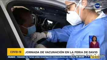 Se inicia tercera semana de vacunación masiva con AstraZeneca en Chiriquí - TVN Panamá