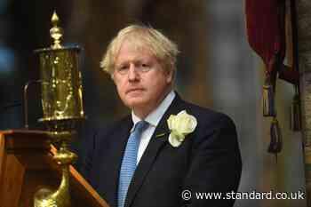 Boris Johnson joins Helena Bonham Carter at service to pay tribute to nurses - Evening Standard