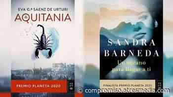Ganadores de un ejemplar de 'Aquitania' y 'Un océano para llegar a ti' - Compromiso Atresmedia