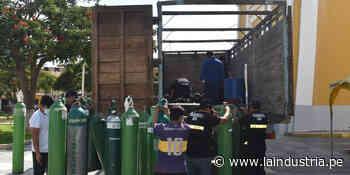 Cien balones de oxígeno de Ascope serán recargados en Lima - La Industria.pe