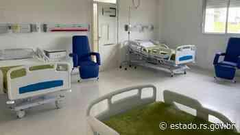 Hospital Regional de Santa Maria inaugura 20 leitos clínicos na terça-feira (8/6) - Governo do Estado do RS