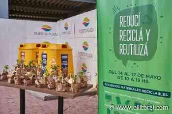 Reciclaje Solidario en Puerto Plaza - El Litoral