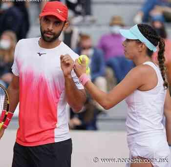 Giuliana Olmos clasifica a cuartos de final en Dobles Mixtos del Roland Garros 2021 - Noroeste