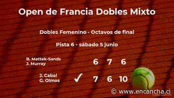 Cabal y Olmos consiguen la plaza de los cuartos de final a costa de Mattek-Sands y Murray - EnCancha.cl
