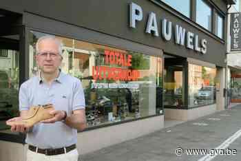 """Na zestig jaar stopt familiezaak Pauwels Schoenen: """"We zijn in een schoenendoos geboren"""" - Gazet van Antwerpen"""