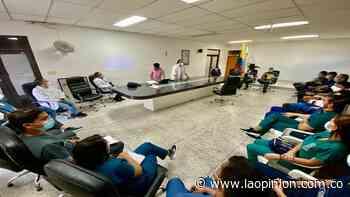 Estudiantes de medicina reforzarán equipo en el hospital de Ocaña | Noticias de Norte de Santander, Colombia y el mundo - La Opinión Cúcuta