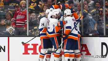 Islanders place Bruins on brink of elimination after halting late comeback effort