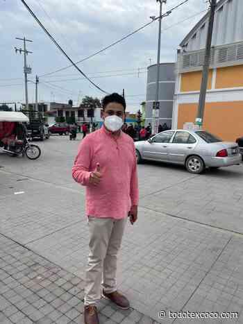 Hugo Pineda Calixco emite su voto en Santa Isabel Ixtapan - Noticias de Texcoco