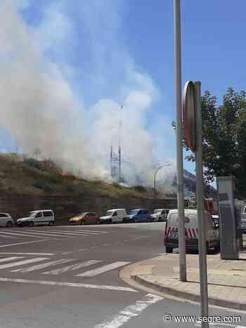 Alarma por un incendio en la calle Cardenal Cisneros de Lleida - SEGRE.com