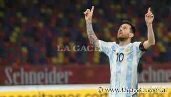 Las 10 mejores fotos de Messi en Santiago del Estero - Deportes | La Gaceta - LA GACETA