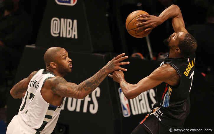 No Harden, No Problem: Durant, Nets Blast Bucks In Game 2