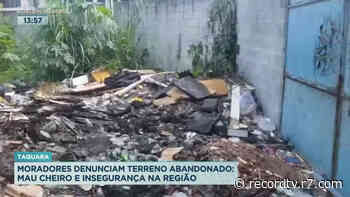 Moradores da Taquara denunciam abandono de terreno - Record TV