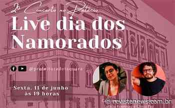 Taquara faz live com Letícia Roennau e Chico Paz no Dia dos Namorados - Revista News