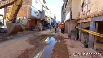 Moradores começam a voltar para suas casas em Rio das Pedras - G1