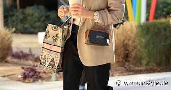 So raffiniert stylt Jessica Alba den Modetrend Blazer - InStyle
