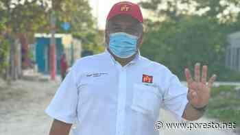 Candidato del PT en Ciudad del Carmen no pudo votar por síntomas de COVID-19 - PorEsto