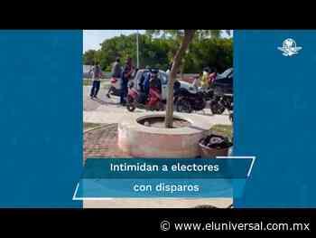 Lanzan disparos al aire en casilla de Ciudad del Carmen - El Universal