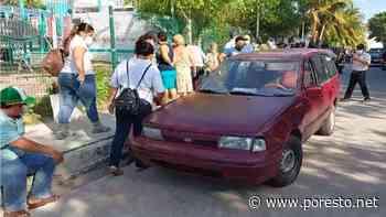 Intentan incendiar un automóvil cerca de una casilla en Ciudad del Carmen: VIDEO - PorEsto
