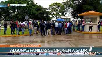 Inicia reubicación de familias que invadieron terrenos en La Chorrera - Telemetro