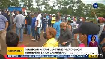 Reubican a familias que invadieron terrenos en La Chorrera - TVN Panamá