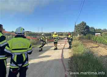 Un incendie brûle un mobil-home à Rognac - Rognac - Faits-divers - Maritima.info