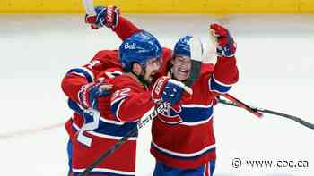 Toffoli scores in OT as Canadiens complete sweep of Jets in final North Division battle