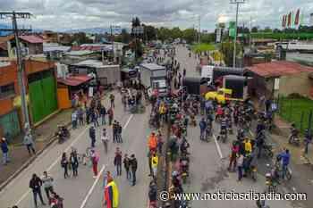 Paro Nacional, persisten bloqueos en Facatativá, Madrid y El Rosal, Cundinamarca - Noticias Día a Día