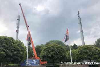 GSM-mast maakt plaats voor nieuw politiekantoor (Tremelo) - Het Nieuwsblad