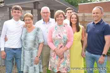 Gouden feest voor Yvan en Maria - Het Nieuwsblad