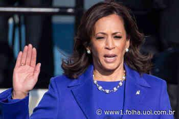 Em seu maior teste político, Kamala assume temas sensíveis à Casa Branca - Folha de S.Paulo