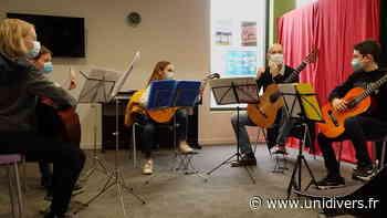Audition guitares Espace Culturel Le Volume - Unidivers