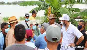En Ayapel trabajan para detener los embates de las aguas del Río Cauca - Caracol Radio