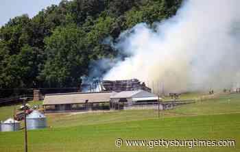 Barn burns in Berwick Township | Local News | gettysburgtimes.com - Gettysburg Times